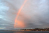 A RAINBOW AWAITED US WHEN WE ARRIVED IN LA JOLLA