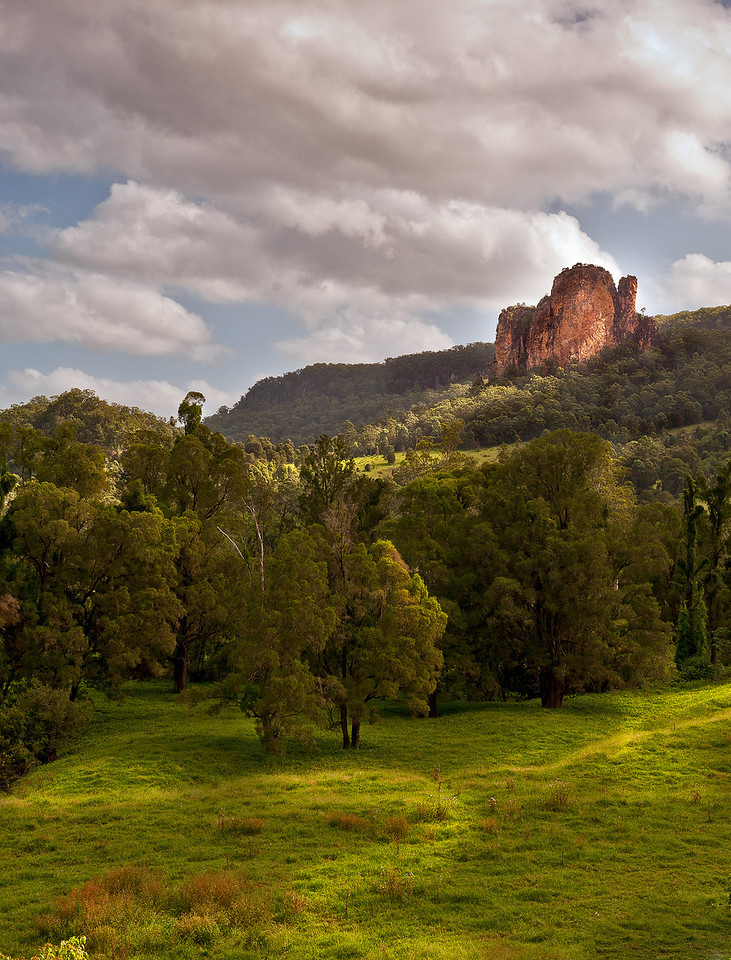 Nimbin Rocks in afternoon light