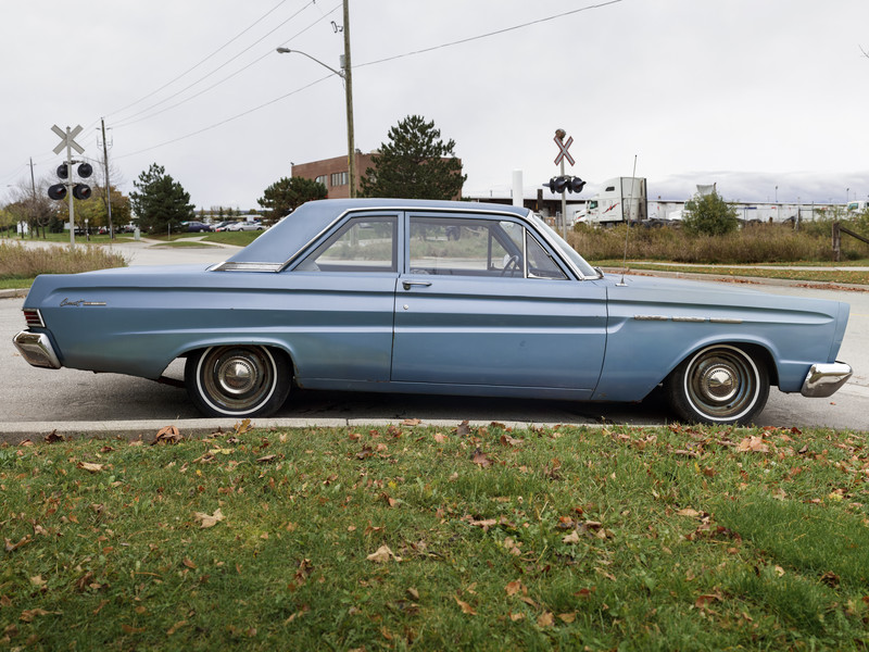 1965 Blue Mercury Comet // 01