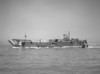 LCT-14?9<br /> <br /> Date: Unknown (Late 1945-1949?)<br /> Location: San Francisco Bay near Oakland CA<br /> Source: Nobe Smith - Atlantic Fleet Sales