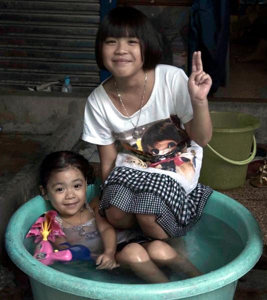 <h4>Staying Cool</h4>Bangkok, Thailand
