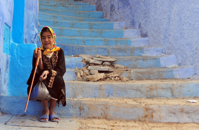 <h4>Pondering Life</h4>Chefchaouen, Morocco