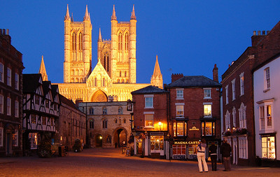 Lincoln Cathedral from Castle Square