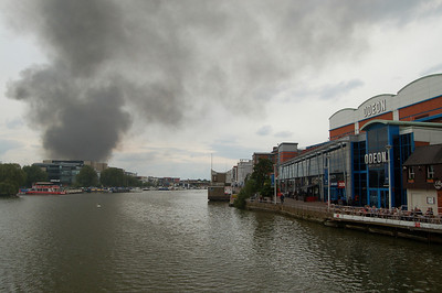 View across Brayford Pool