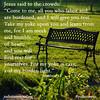Jesus said to crowds 12-16-15 DID NOT USE