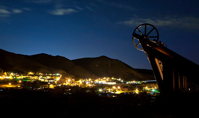 Virginia City Night Hoist