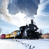 Carson Rail Museum Backlit Steam Cloud