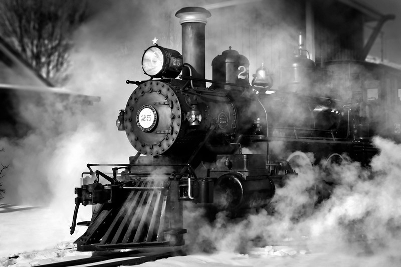 Steam Engine 25 Carson City, NV