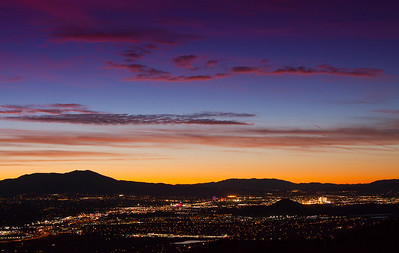 Reno City Sunset
