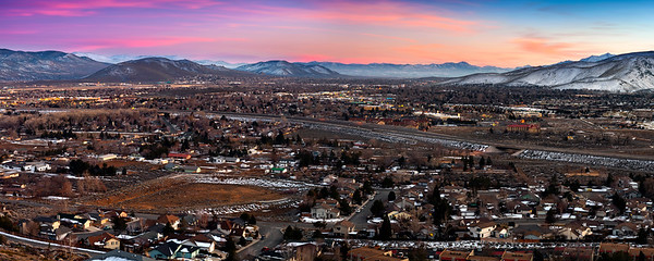 Carson City Twilight Sunset