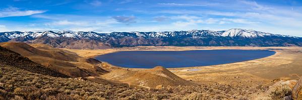 Washoe Valley Pano Washoe Lake NV
