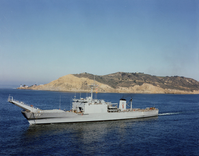 USS  Frederick (LST-1184)<br /> <br /> Date: Unknown<br /> Location: Unknown<br /> Source: Nobe Smith - Atlantic Fleet Sales