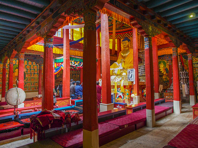 Hemis Monastery - Assembly Hall