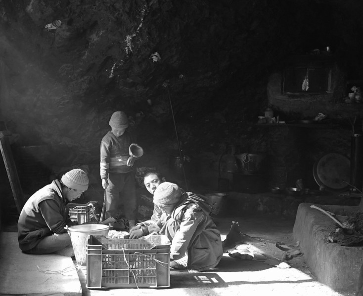 One night in Zanskar, a group of child monks invited me to have dinner with them in a cave near a mountain top, which they used as a kitchen, with an open fire and pots to make soup and tea from rancid yak butter, barley flour, and yak cheese. Just outside the cave entrance, it was a vertical drop-off straight into the river far below. Above, shooting stars and the milky way illuminated our dinner.