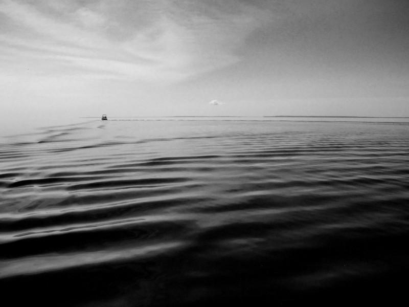 Leaving East Grant Island