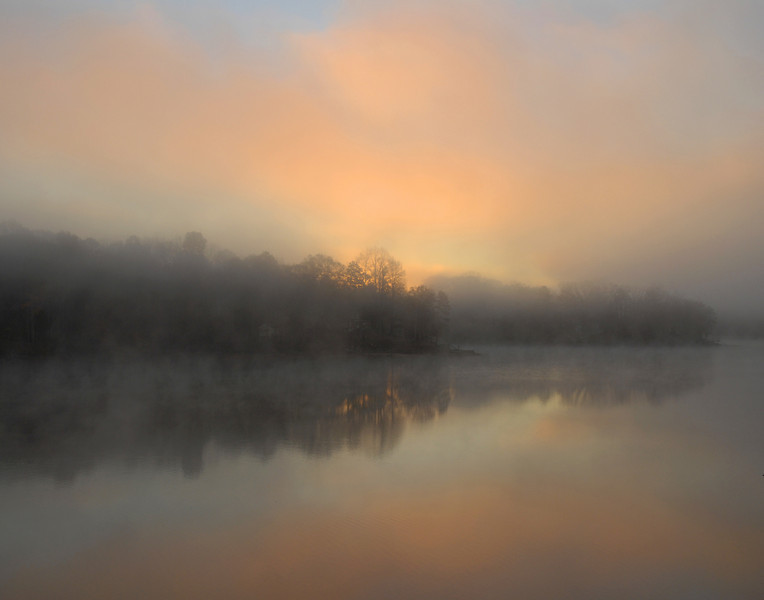 November Dawn at Lake Seccession I