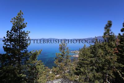 Chimney Beach, Lake Tahoe State Park.