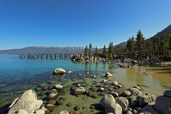 Sand Harbor, Lake Tahoe, Nevada.