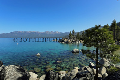 Sand Harbor, Lake Tahoe, Nevada.