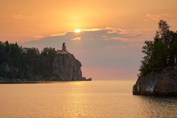 Sunrise & Split Rock Lighthouse