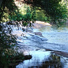 Sedona flowing water