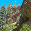 West Fork cliffs