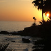 Laguna Beach ocean sunset