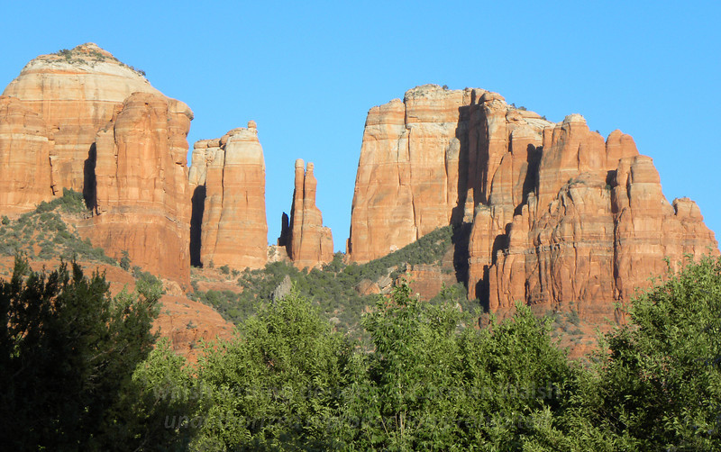 Cathedral Rock close-up