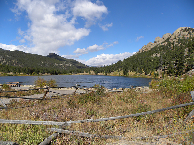 Colorado lake view