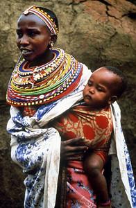 Maasai Mama and Toto