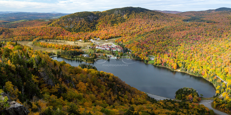 Lake Gloriette in Dixville Notch