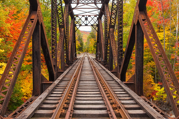 Walking Through Fourth Iron Trestle
