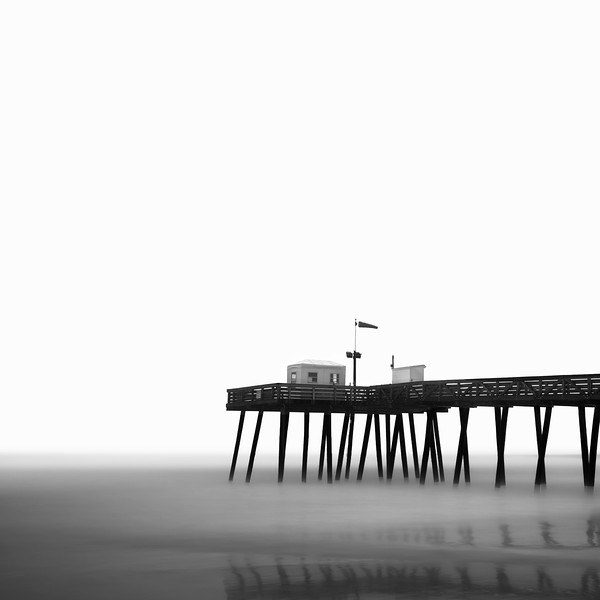 Stormy Pier - Fishing Pier OCNJ<br /> <br /> © Scott Frederick Photography : All Rights Reserved