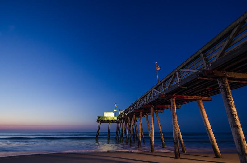 Moonlight Pier