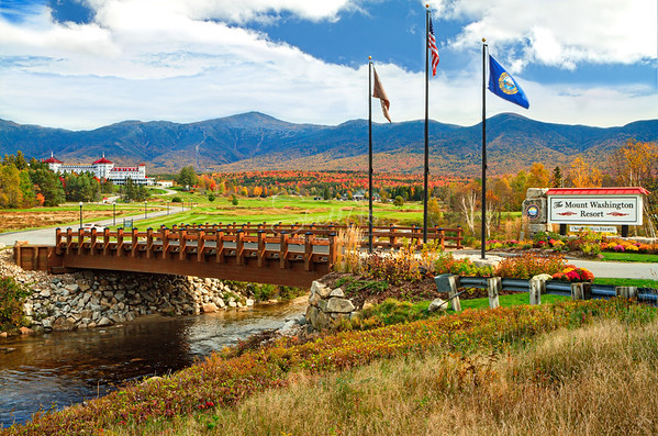 Mount Washington Resort in Autumn 2012