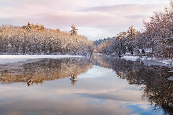 Squam River Up Dawn