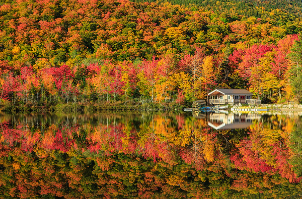 Echo Lake Cabin Reflection