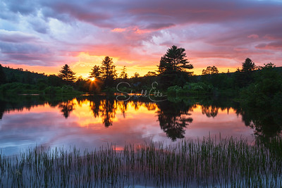 Fire in the Sky, Coffin Pond