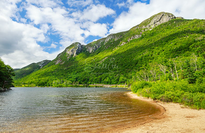 Eagle Cliff and Profile Lake in Franconia Notch State Park