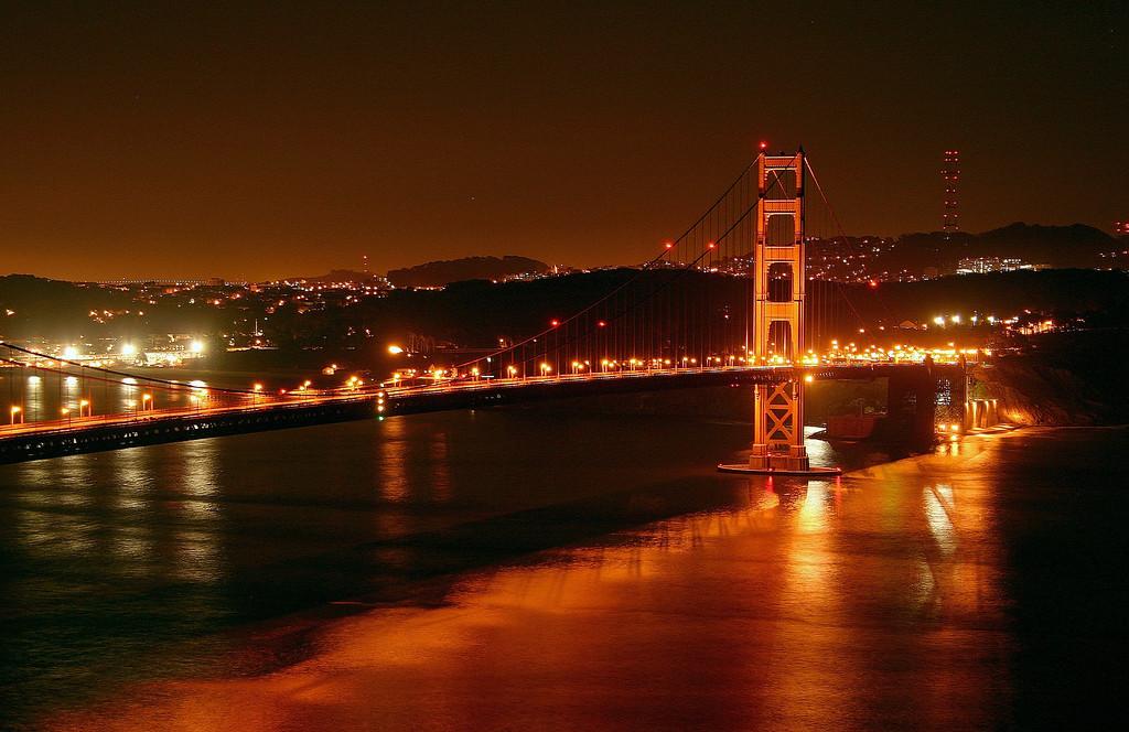 Predawn Golden Gate
