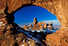 #183 Turret Arch through North Window, Arches NP, UT