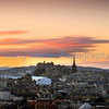 Sunset over Edinburgh (1)
