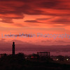 Calton Hill at Sunset, Edinburgh.