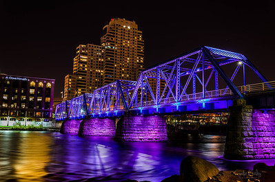 Grand Rapids Blue Bridge
