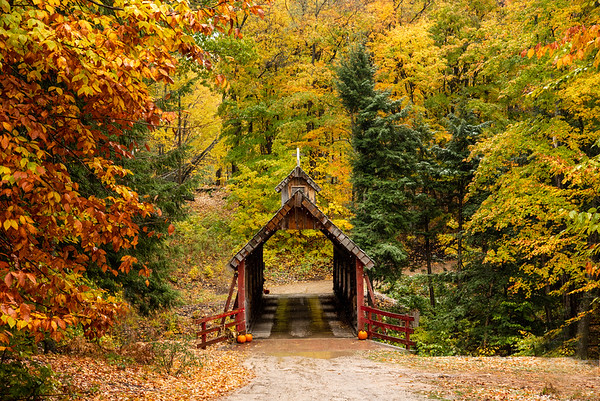 Loon Song Covered Bridge, Lake Ann, Michigan