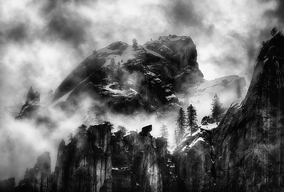 Fog, Yosemite Valley