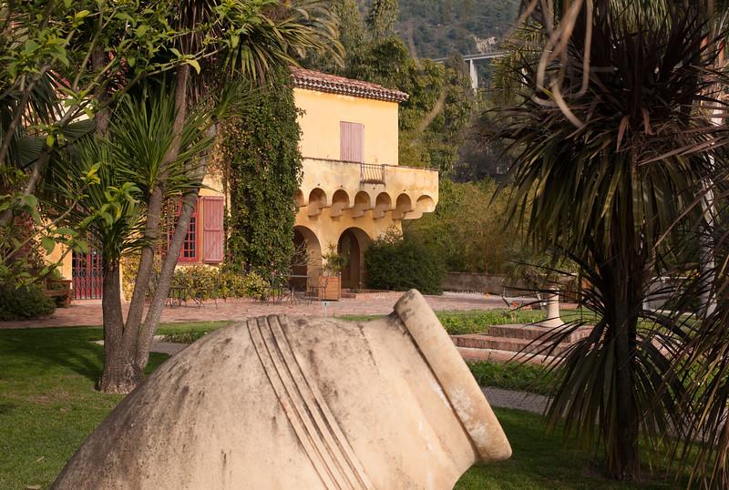 Besuch bei Colonel in Menton - Hotel Napoleon, Villa Hanbury, Botanischer Garten