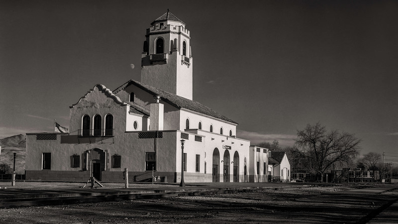 Boise Idaho Train Depot 1986