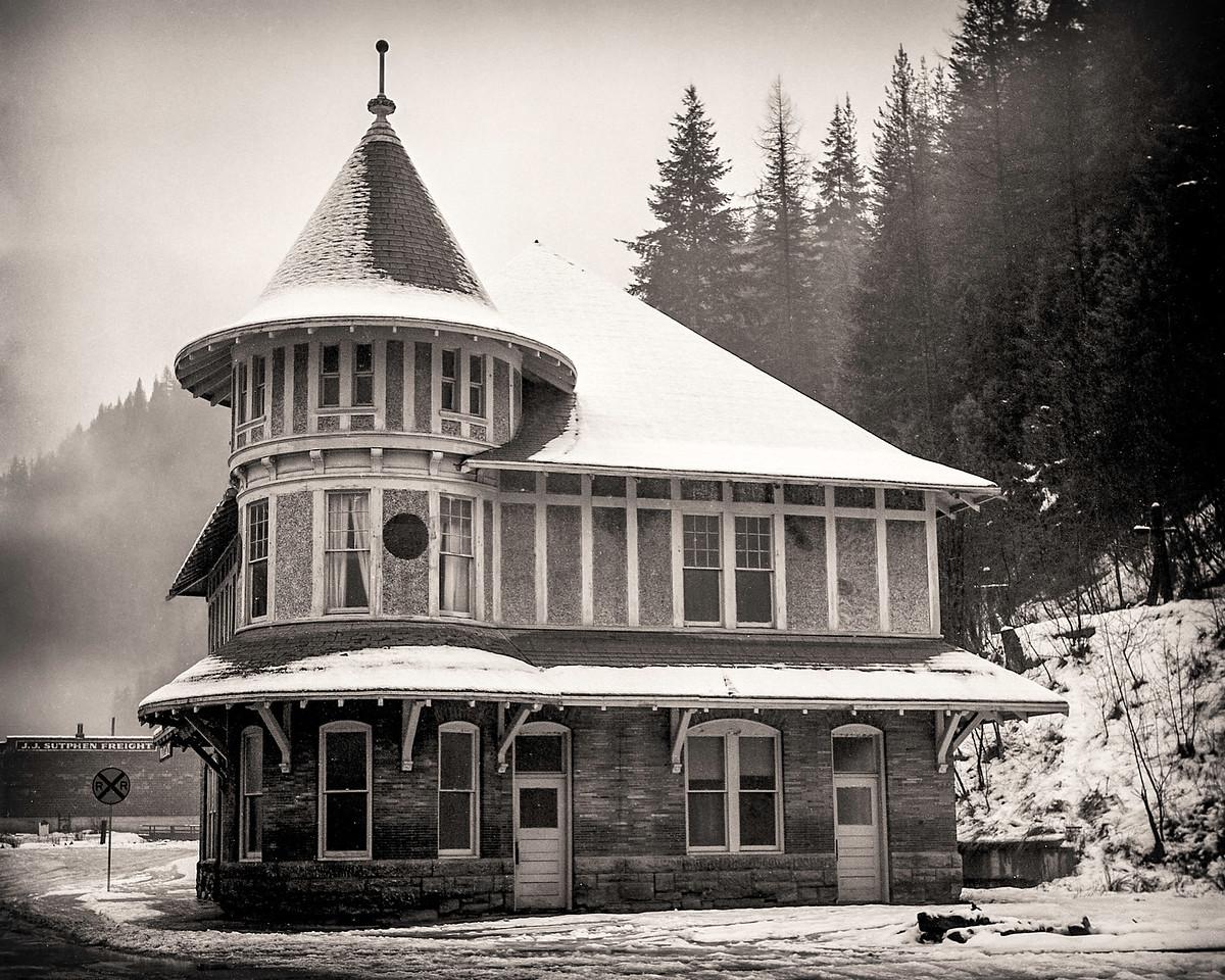Wallace Idaho train station