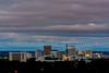 City of Boise with Night Skyline